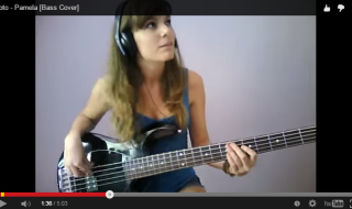 Marta Altesa / Toto – Pamela [Bass Cover]